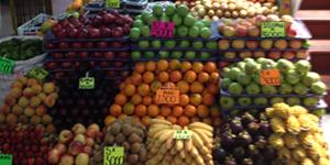 Beautifully Arranged Fruits