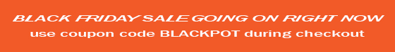 Black Friday Sale banner orange