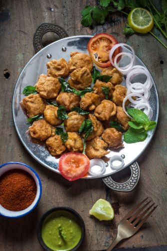 7 Prawn Fritters
