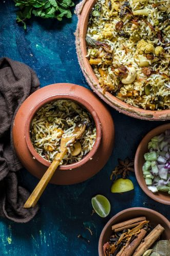 Hyderabad Vegetable Biryani
