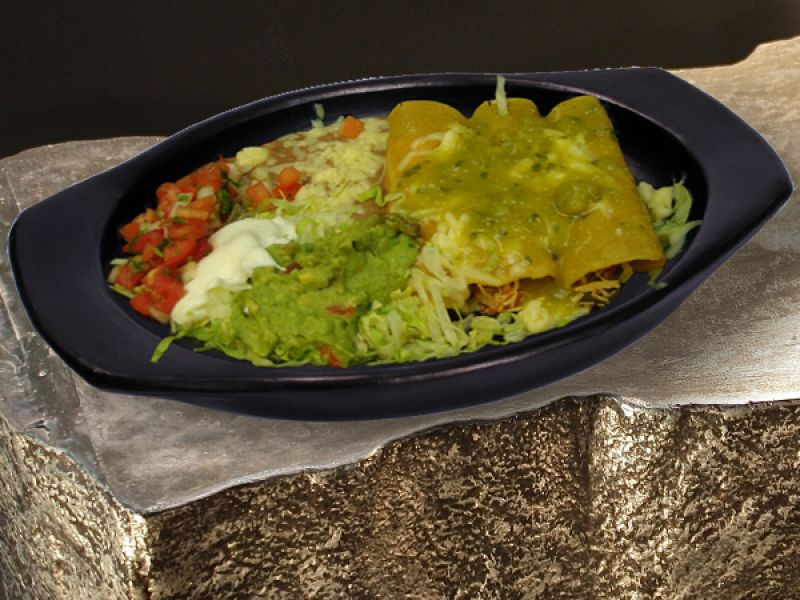 Enchilada Suizas - Chicken Enchiladas