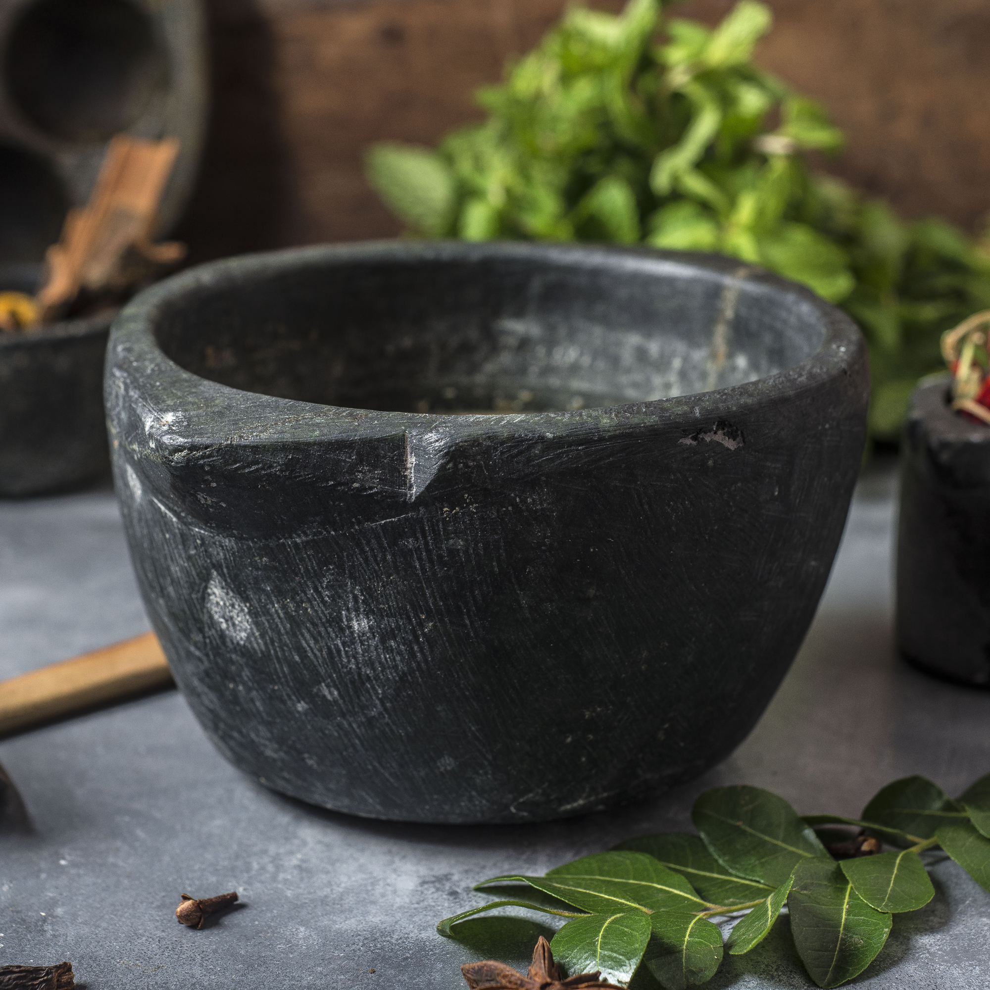 Indian Soapstone Pot