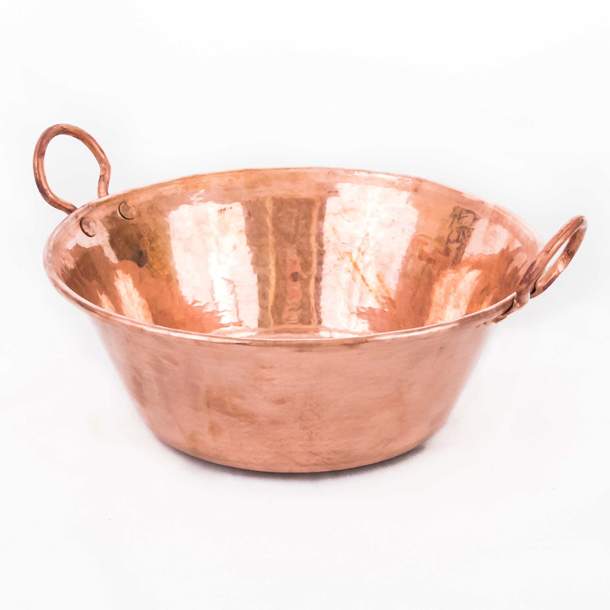 Mexican Hand Hammered Copper Cazo