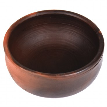 Straight Sided Clay Pomaireware Bowl