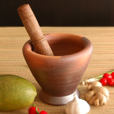 Laos Style Mortar and Pestle