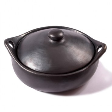 Black Clay, La Chamba Oval Casserole
