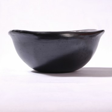 Black Clay, La Chamba Soup Bowl