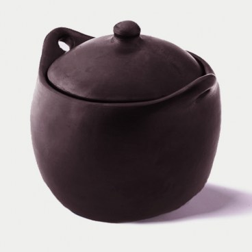 Black Clay, La Chamba Dutch Oven