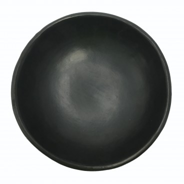 Black Clay, La Chamba Deep Plate