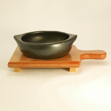 Wood Stand for Soup Bowls