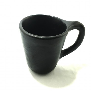 Black Clay, La Chamba Coffee Mug