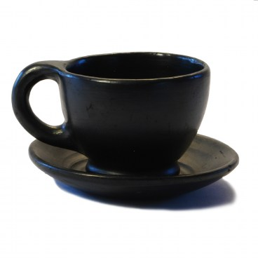 Black Clay, La Chamba Coffee Cup