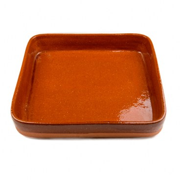 Rectangular Clay Roasting Pan