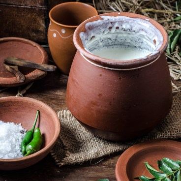 Indian Clay Yogurt Pot