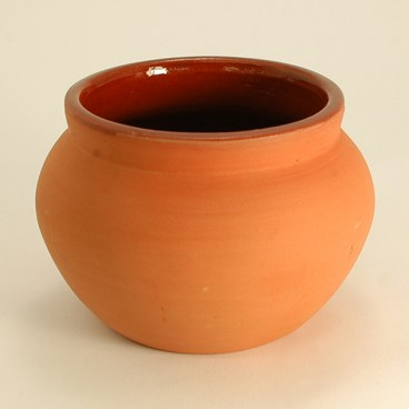 Indian Clay Biriyani Pot