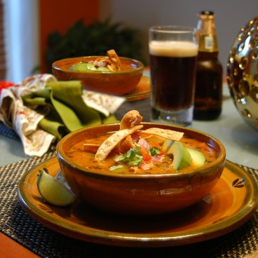 Mexican Tortilla Soup Bowl