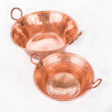 Hand Hammered Copper Cazo