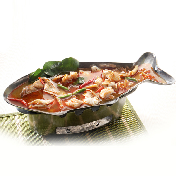 Thai Fish-shaped Hot Pot